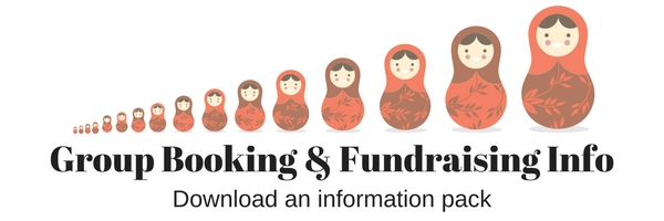 Download our Group Booking and Fundraising Information Pack